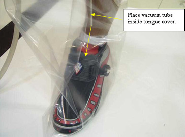 how to get a sock out of a vacuum hose